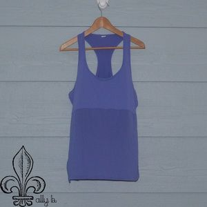 💜Fabletics light purple tank top💜